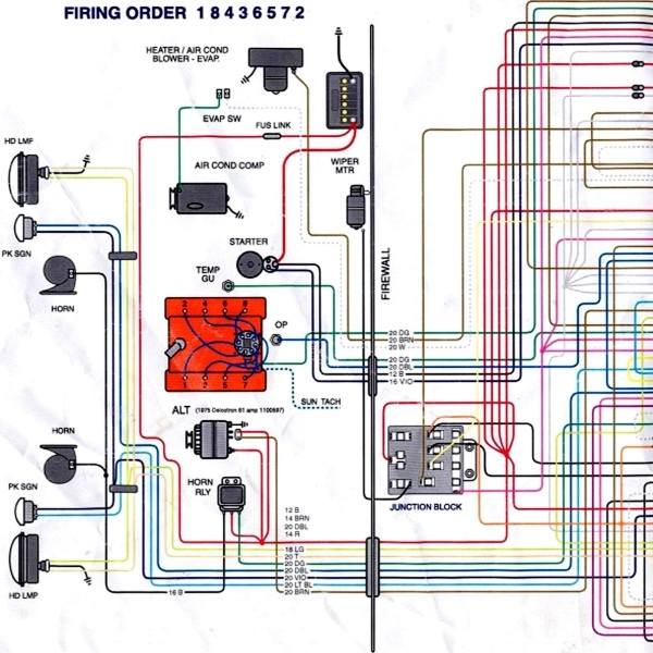 56 chevy truck wiring diagram