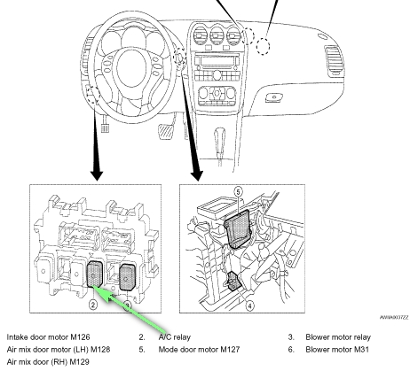 Where Is The Ac Compressor Relay Located On A Altima