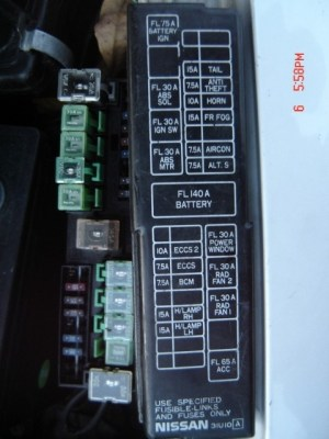 2001 Nissan Altima Fuse Box | Fuse Box And Wiring Diagram