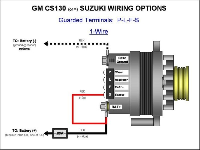 Collection Gm 3 Wire Alternator Wiring Diagram Pictures - Wiring ...