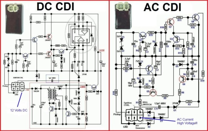 diagram 4 wire cdi chinese atv wiring diagrams 110cc full