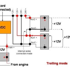 12v Trolling Motor Wiring Diagram Residential Diagrams 24 Volt | Fuse Box And