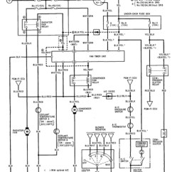 96 Civic Distributor Wiring Diagram Rainforest Food Chain For Kids 1992 Honda Prelude Air Conditioner Electrical Circuit And Schematics In 2001 ...