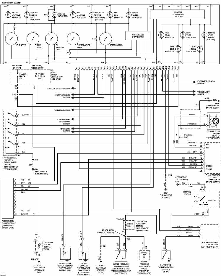 1991 chevy 1500 headlight wiring diagram