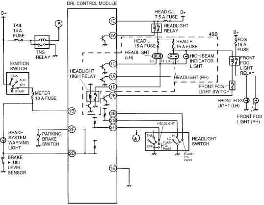 Wiring Diagram Ign Switch 2000 Mazda Protege : 44 Wiring