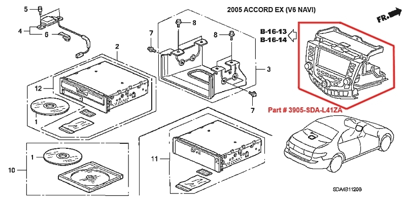 2003 Honda Accord Stereo Wiring Diagram