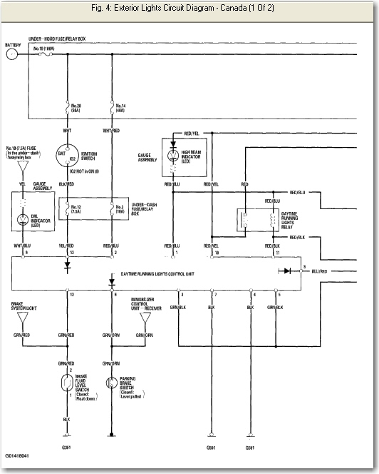 2009 Honda Pilot Windshield Washer Wiring Diagram Honda Auto Parts Catalog And Diagram