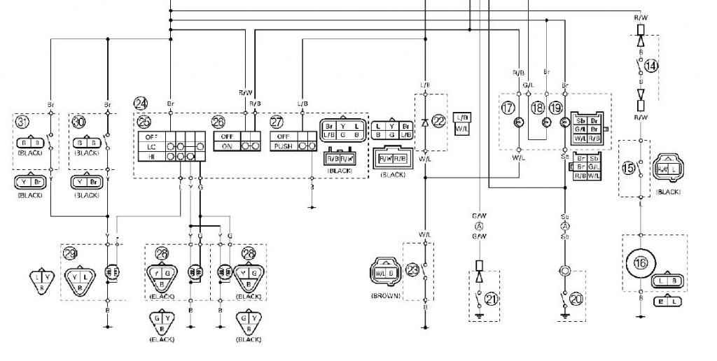 2005 yamaha yfz 450 wiring diagram 2005 free wiring diagrams inside 2006 yfz 450 wiring diagram yfz 450 wiring diagram 2004 yamaha yfz 450 wiring diagram at fashall.co