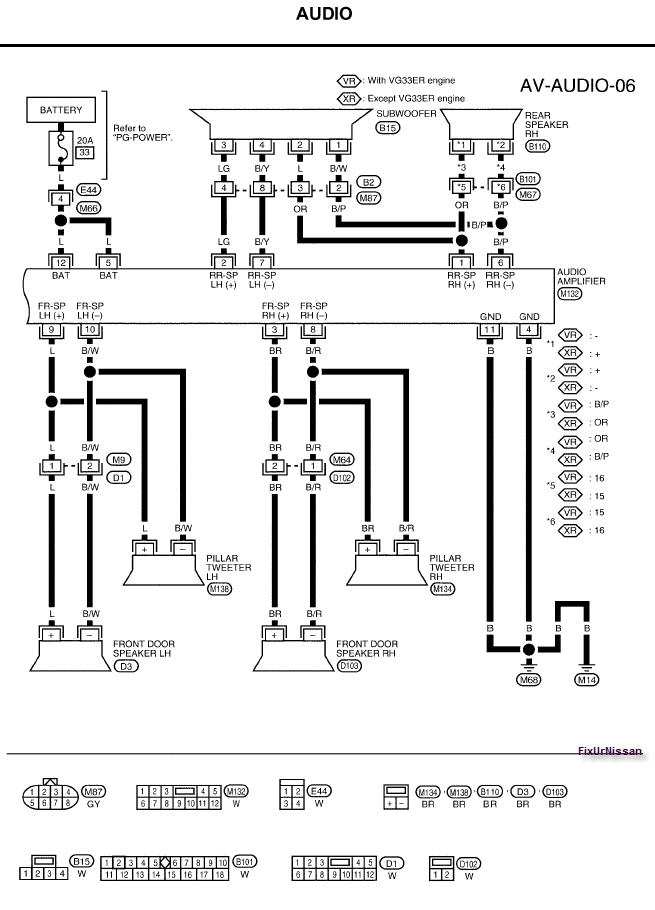 Wiring Diagram For 2010 Nissan Altima : Nissan altima stereo wiring diagram