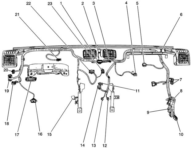 2012 Chevrolet Silverado 1500 Radio Wiring Diagram