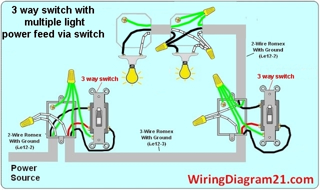 Lighting House Wiring Diagrams Light Switch House Wiring Diagrams