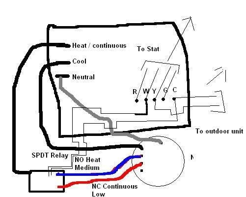 4 Speed Blower Motor Wiring Diagram with Blower Motor