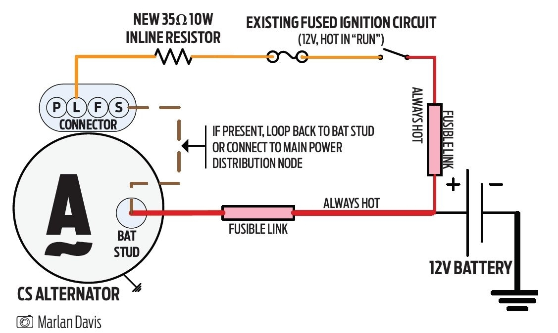 Fancy 2wire Gm Alternator Diagram Mold - Electrical and Wiring ...