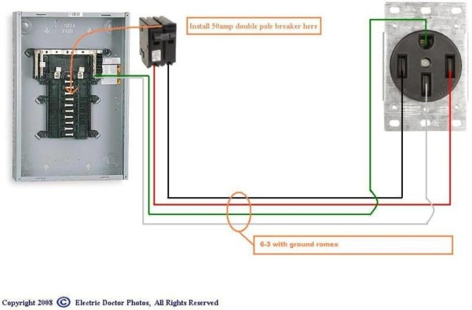 🏆 diagram in pictures database wiring diagram for 50 amp