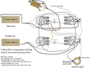 50's Les Paul Wiring Diagram | Fuse Box And Wiring Diagram