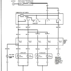 95 Honda Civic Headlight Wiring Diagram Dayton Reversible Motor | Fuse Box And