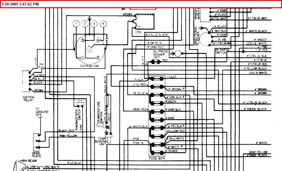 1981 fiat wiring diagram