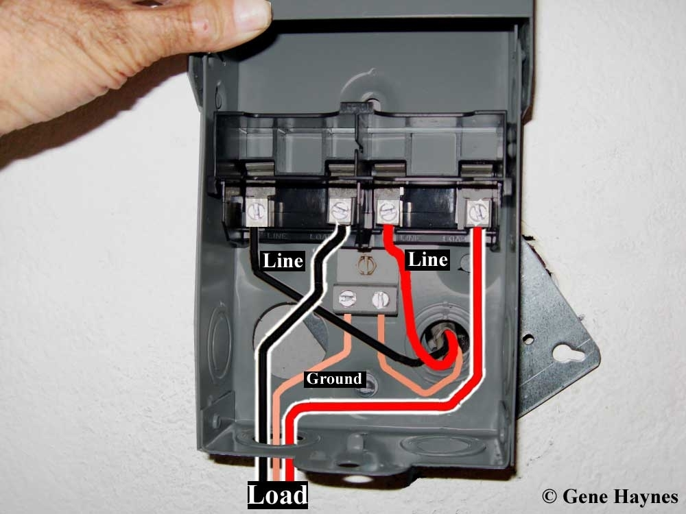 ac disconnect wiring wiring diagram images database amornsak co for ac disconnect wiring diagram ac disconnect wiring diagram eaton ac disconnect wiring diagram at bakdesigns.co