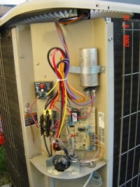 Wiring Capacitor Ac Unit - Example Electrical Wiring Diagram