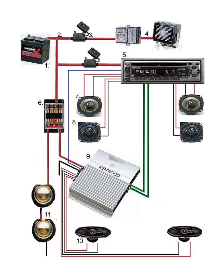 audio cap wiring diagram