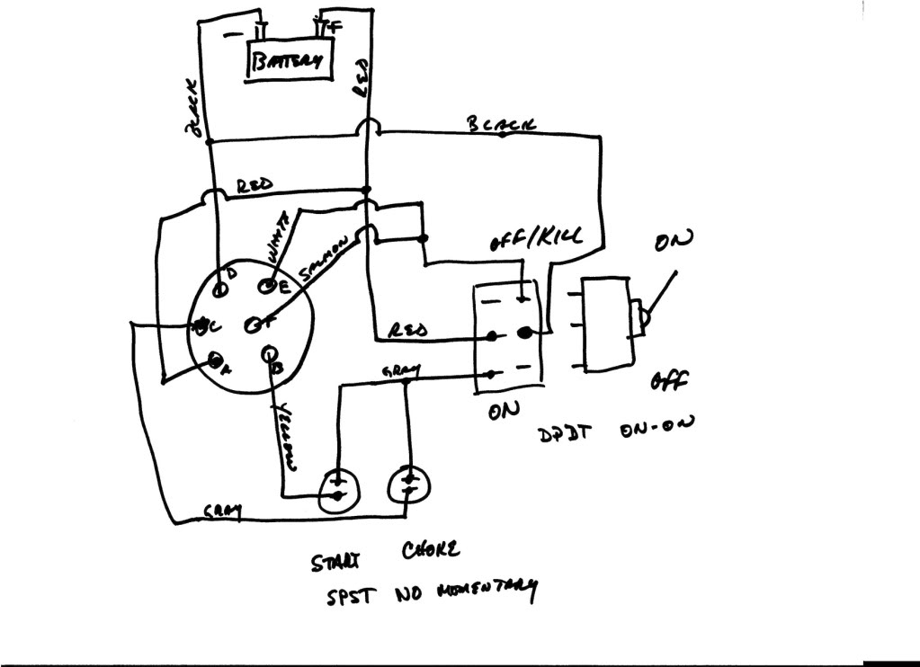 start with push button kill switch wiring schematic