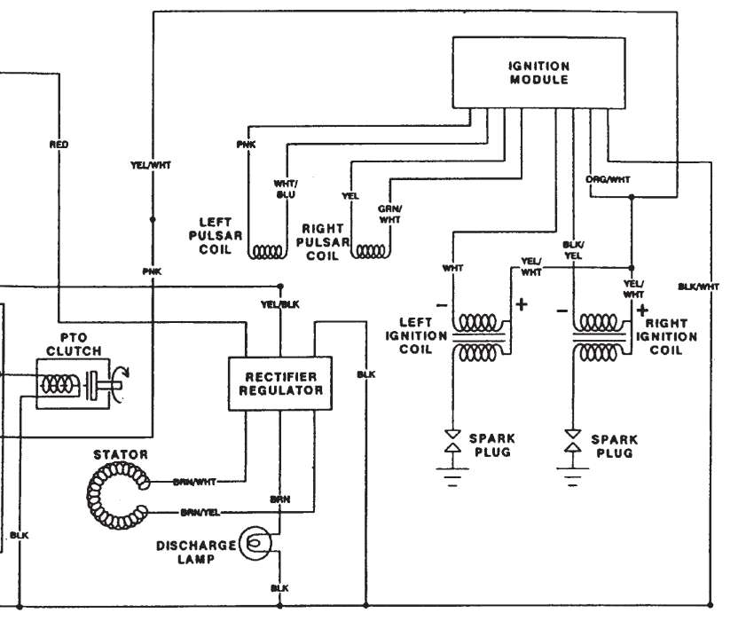 Briggs And Stratton Wiring Diagram 21 Hp also Kohler Horizontal Shaft Engine Diagram 16 further Yamaha Grizzly 125 Wiring Schematic furthermore Typical Garden Tractor Ignition Switch Wiring Diagram in addition Wiring Diagram For 50cc Scooter. on teseh engine electrical diagram