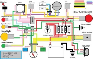 1980 Honda Cb750 Wiring Diagram | Fuse Box And Wiring Diagram
