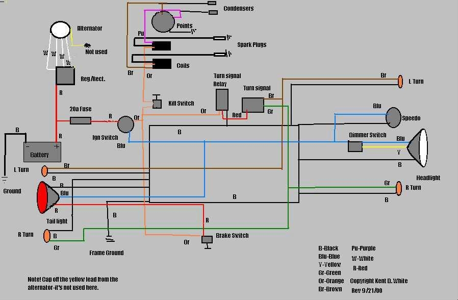 simple wiring diagram for chopper haltech e8 | fuse box and