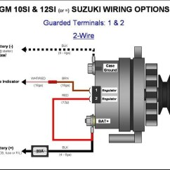 Cs130 Alternator Wiring Diagram 2000 Chevy Silverado Factory Radio Delco Remy | Fuse Box And