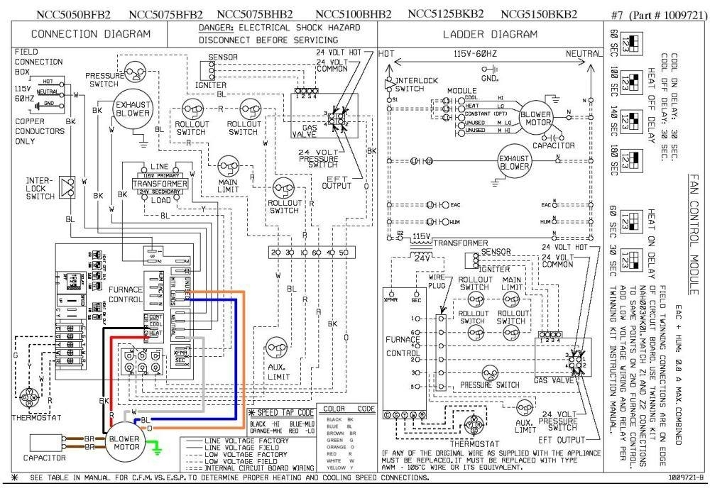 wiring diagram for fan relay on home ac unit