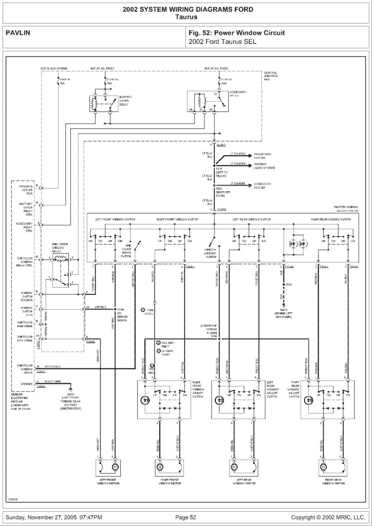 ford trailer wiring diagram 2003