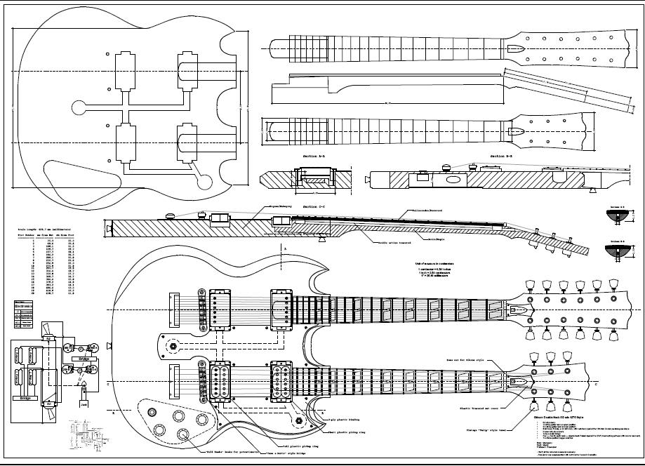 epiphone g 1275 wiring diagram used epiphone double neck
