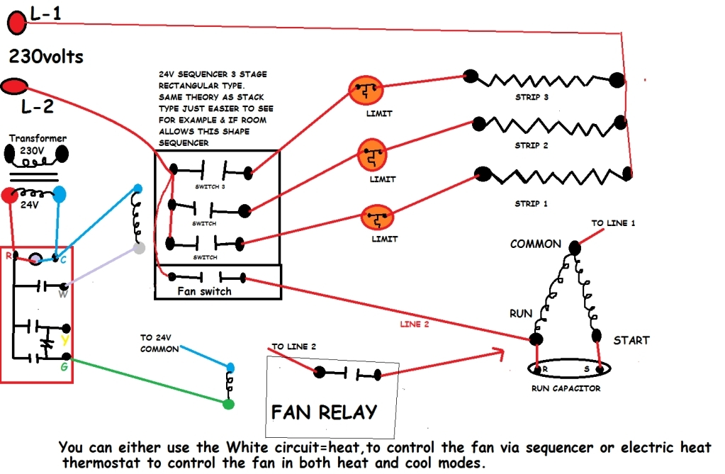 electric heat sequencer wiring diagram
