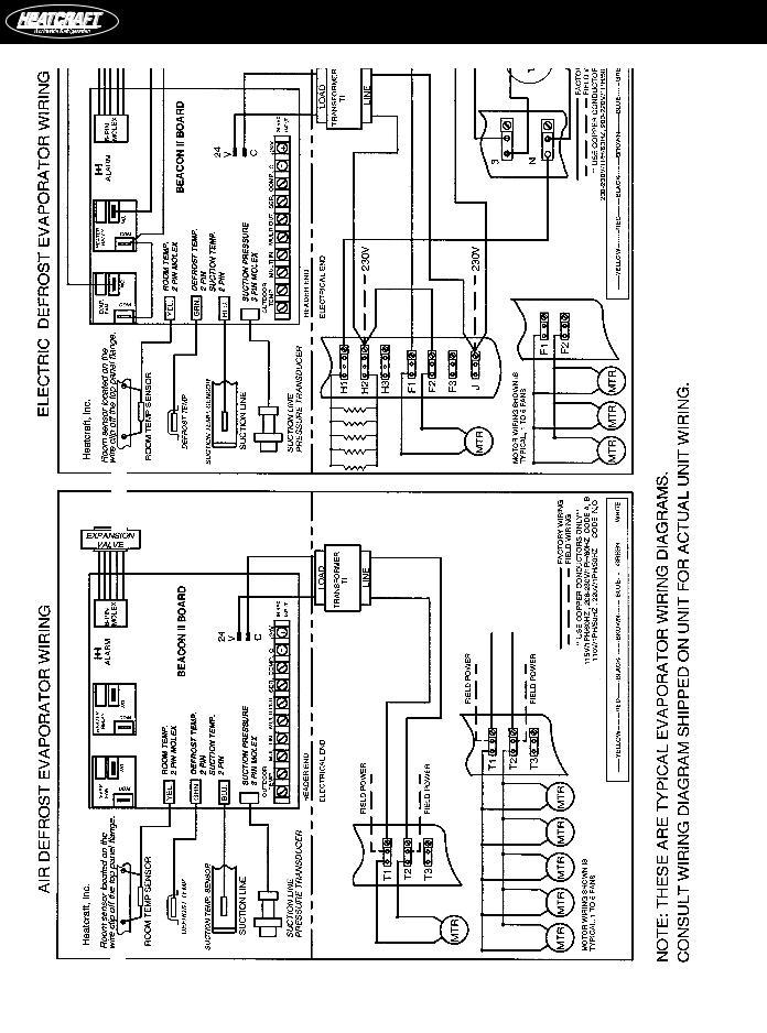Heatcraft Wiring Diagram | Wiring Diagram on