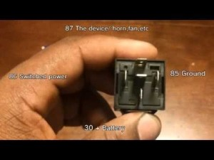 How To Wire A 3040 Amp Relay  Youtube throughout 12V 30 Amp Relay Wiring Diagram | Fuse Box