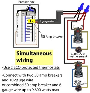 Electric Hot Water Heater Wiring Diagram | Fuse Box And