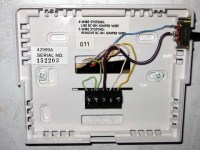 Hunter Thermostat in Dometic Thermostat Wiring Diagram