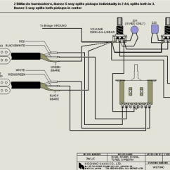 Double Humbucker Wiring Diagram 2006 Dodge Ram Dimarzio Diagrams Free For You Pickup Schematics 24 Images Bass