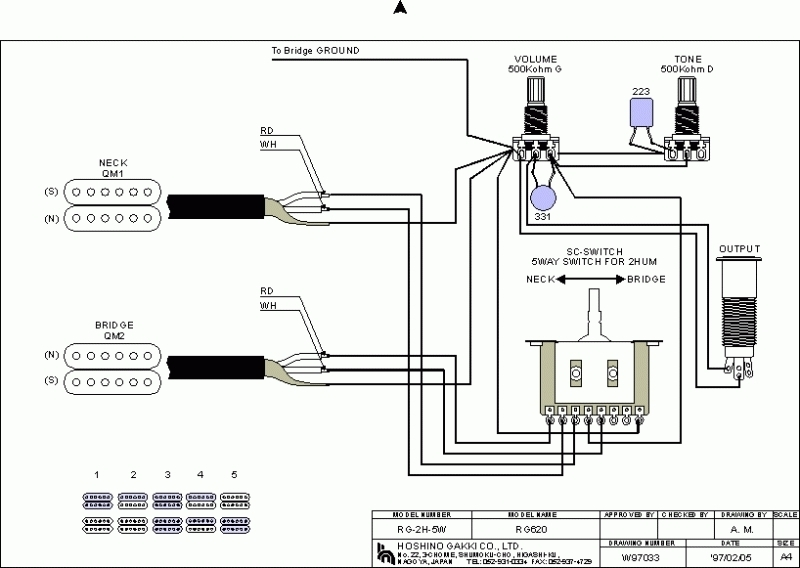 Dimarzio Lp Wiring Diagrams : 27 Wiring Diagram Images