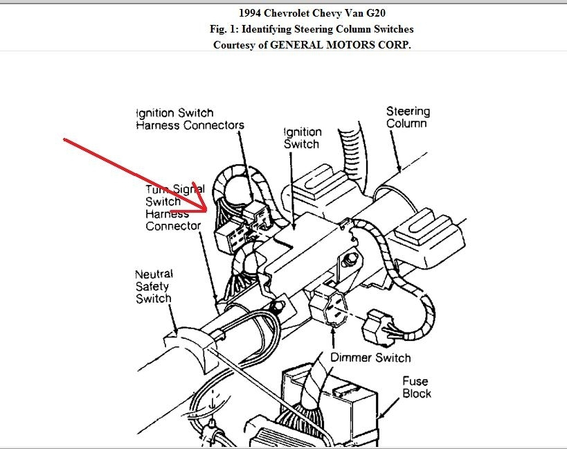 57 Chevy Ignition Switch Wiring Schematic Diagram Electronic