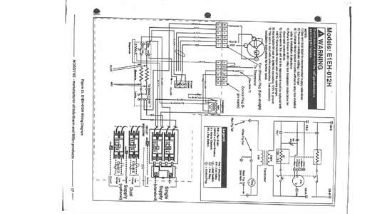 Model E2eb 015ha Intertherm Electric Furnace Parts Wiring