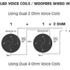 Subwoofer Wiring Diagram Dual 1 Ohm 1973 Vw Beetle Ignition Coil Kicker | Fuse Box And