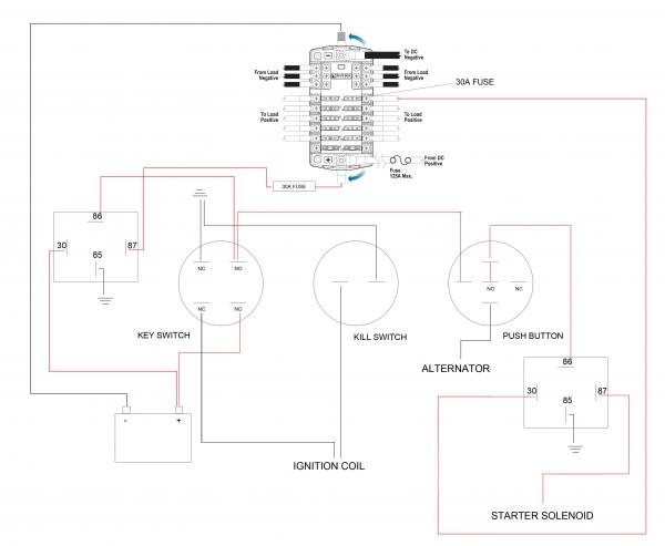 Kohler Engine Charging System Wiring Diagram