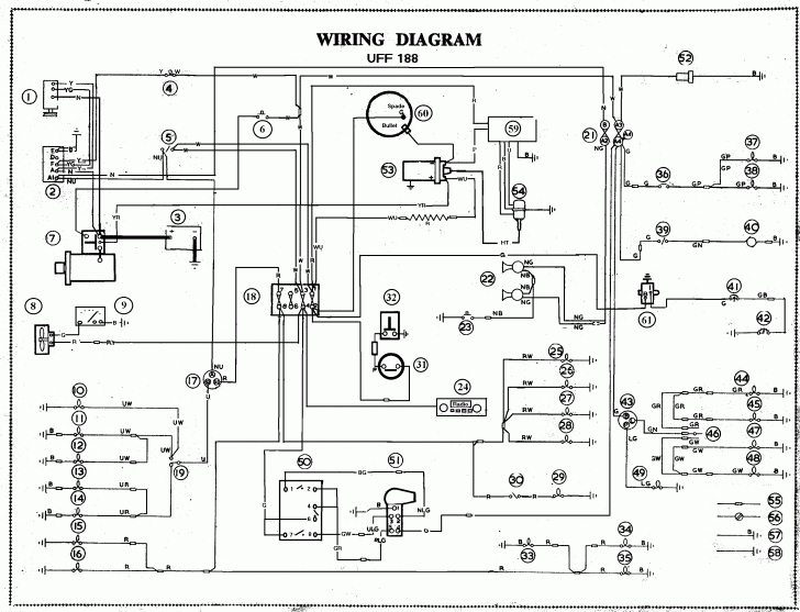 lucas tvs wiper motor wiring diagram msd 6al chevy charging alternator 44 with basic pics 49112 linkinx pertaining to a127