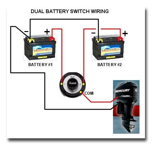Manual Marine Battery Switch Boat Wiring Easy To Install