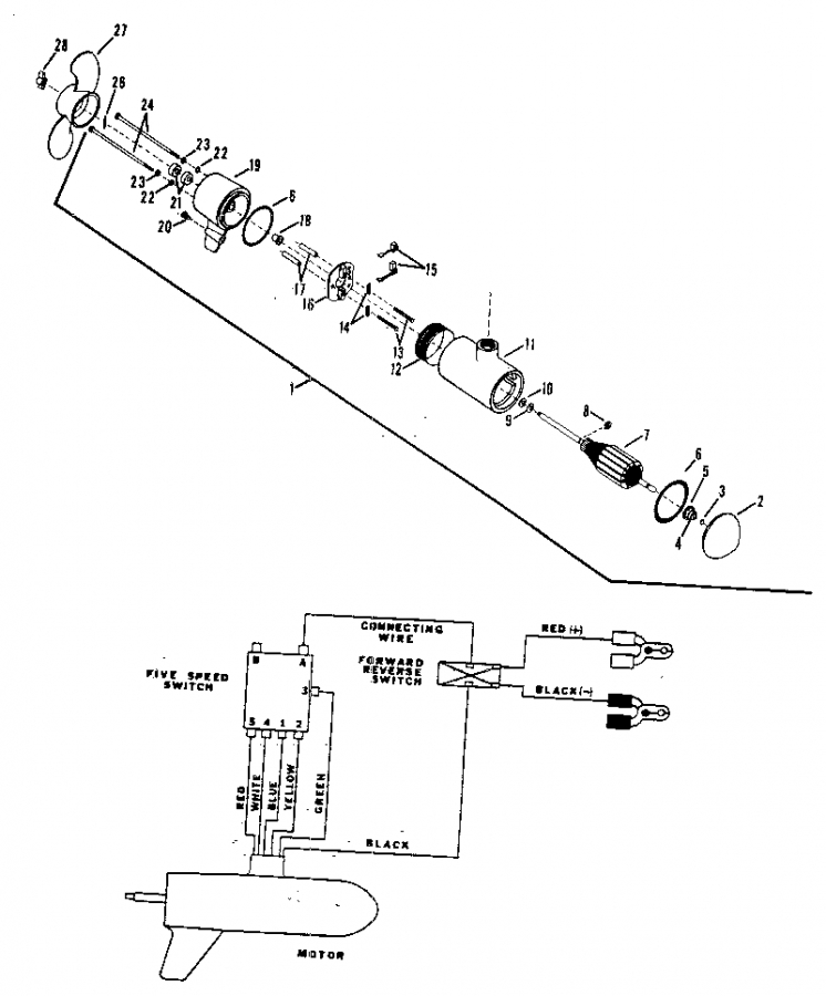 12 24 Volt Trolling Motor Wiring. Diagrams. Auto Fuse Box