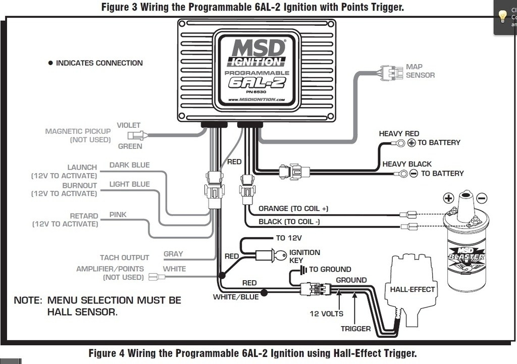 msd 6al ignition wiring diagram