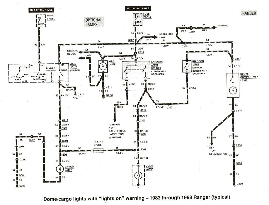 wiring diagram for a ford ranger radio