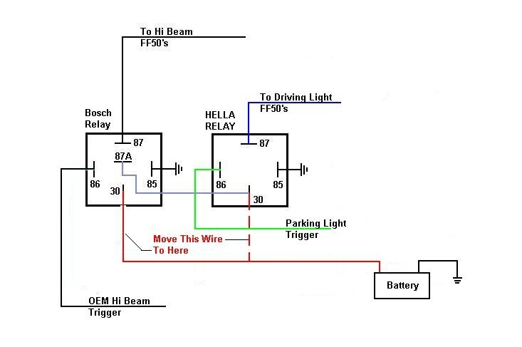 bosch relay wiring diagram for horn 5 pin and ac diagrams wiring, lights - page 3 with regard to 12 volt | fuse box ...
