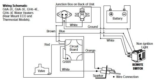 Wiring Diagram Sw10de Suburban Water Heater Theory